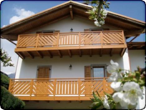 balconi in alluminio finto legno prezzi terminali
