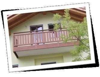 doghe in pvc per balconi