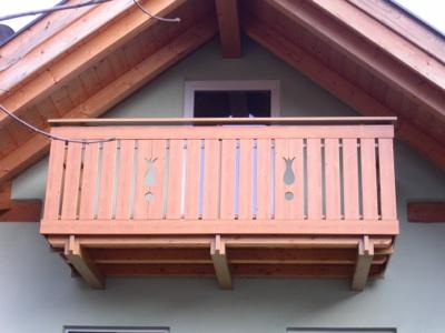 Stecche e corrimano pvc for Balconi in legno prezzi